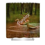 Frolicking Shower Curtain
