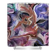 From Beyond II Shower Curtain