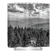 From Clingmans Dome Shower Curtain