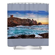 From Corsica Shower Curtain