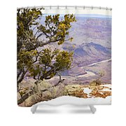 From Desert View Shower Curtain