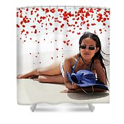 From Heaven Shower Curtain