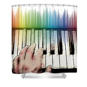 From Keyboard To Keyboard Shower Curtain