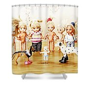 From Life Of Toys Shower Curtain