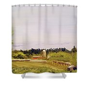 From Linden Row Shower Curtain