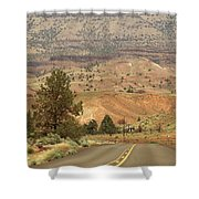 From Mitchell To Smith Rock  Shower Curtain
