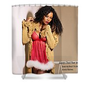 From My Heart To Yours Shower Curtain