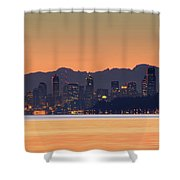 From Night To Day Shower Curtain