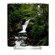 From Out Of The Smoky Mountains Shower Curtain