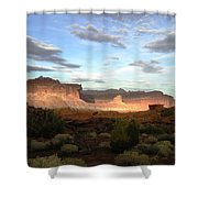 From Sunset Point 1 Shower Curtain
