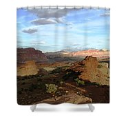From Sunset Point 2 Shower Curtain