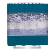 From The Beach In Bray, Ireland Shower Curtain