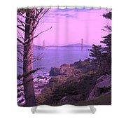 From The Cliff Of  Lands End 06 Shower Curtain