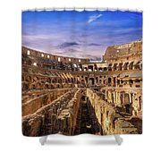 From The Floor Of The Colosseum Shower Curtain