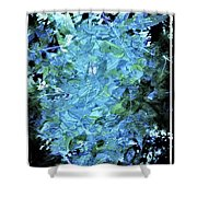 From The Glory Of Trees Abstract Shower Curtain