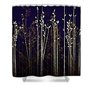 From The Grass We Creep Shower Curtain