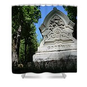 From The Grave No2 Shower Curtain