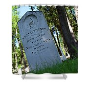 From The Grave Shower Curtain