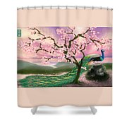 From The Heart Shower Curtain