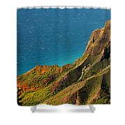 From The Hills Of Kauai Shower Curtain