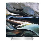 From The Lake By Georgia O'keeffe Shower Curtain