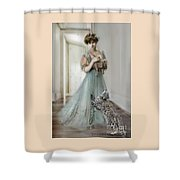 From The Past Shower Curtain
