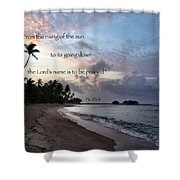 From The Rising... Shower Curtain