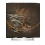 From The Shire To Mordor Shower Curtain