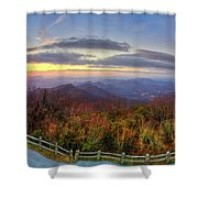 From The Top Of Brasstown Bald Shower Curtain