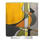 From Time To Time Shower Curtain