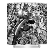 From Tree To Music Shower Curtain