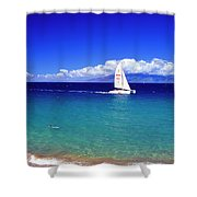 Maui Hawaii Frommer's 2000 Maui Cover Shower Curtain