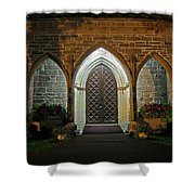 Front Door Christ Church Cathedral 1 Shower Curtain