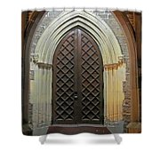 Front Door Christ Church Cathedral 4 Shower Curtain
