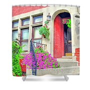 Front Entrance Shower Curtain