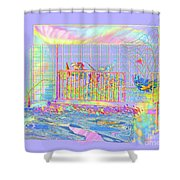 Front Porch At Sunrise Shower Curtain