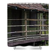 Front Porch Love  Shower Curtain