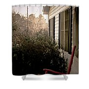 Front Porch Memories Shower Curtain