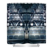 Front Stalls Shower Curtain