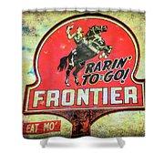 Frontier Gas Shower Curtain