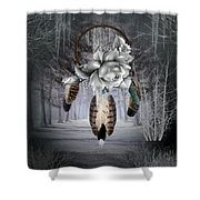 Frost Bitten Shower Curtain