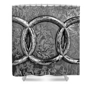 Frosty Audi Shower Curtain