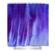 Frosty Evening Shower Curtain