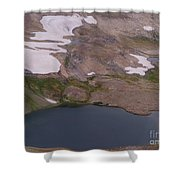 Frosty Lake Shower Curtain