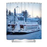 Frozen Attraction Shower Curtain