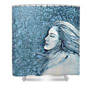 Frozen Dreams Shower Curtain