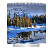 Frozen Jasper Paradise Shower Curtain