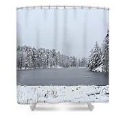 Frozen Lake 1 Shower Curtain