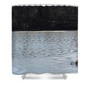 Frozen Lake 2 Shower Curtain