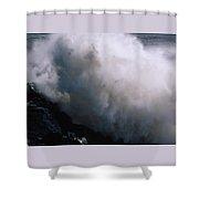 Frozen Motion Shower Curtain